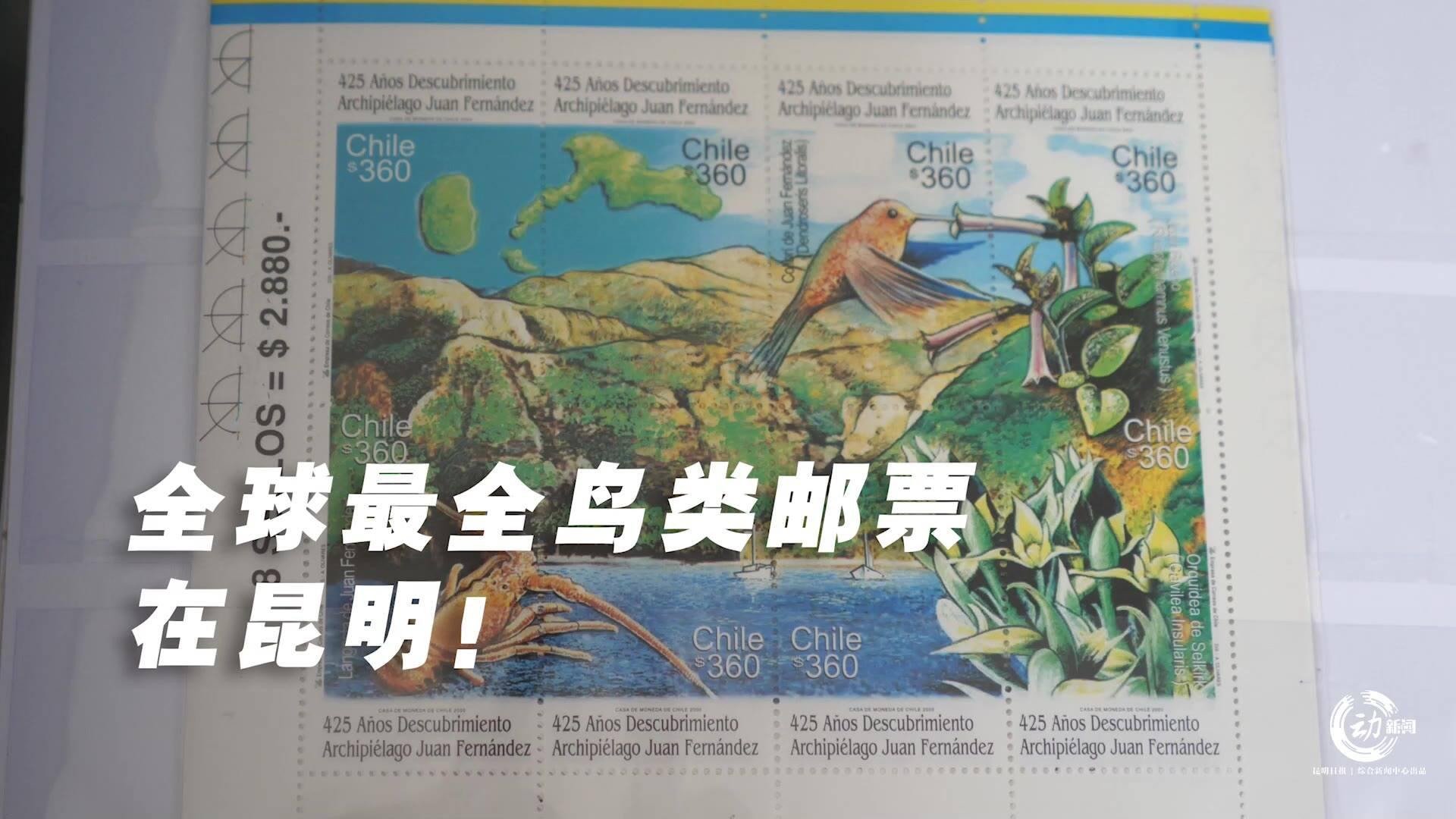 动新闻|全球最全鸟类邮票在昆明