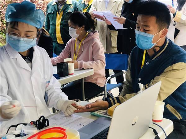 为生命加油!160余名一心堂员工参与无偿献血