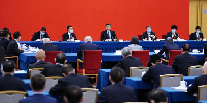 习近平同出席全国两会人大代表、政协委员共商国是纪实